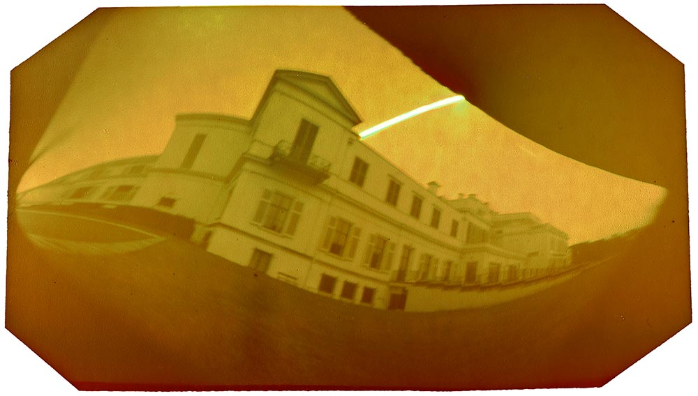 summer house paleis soestdijk pinhole solargraphy