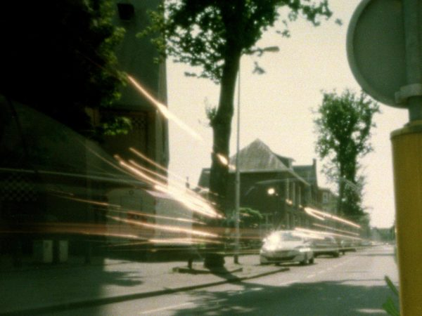 city scape utrecht long exposure light painting