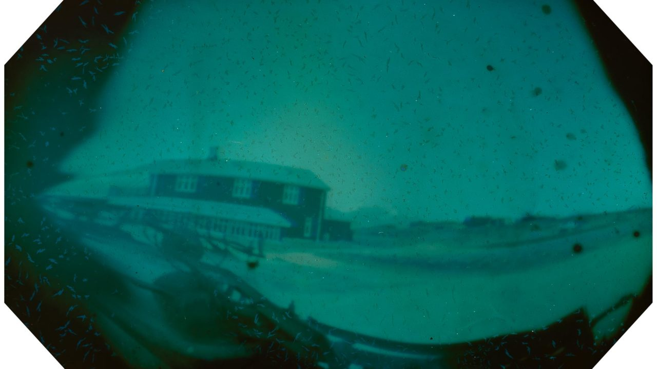 skalanes iceland solargraphy pinhole photo