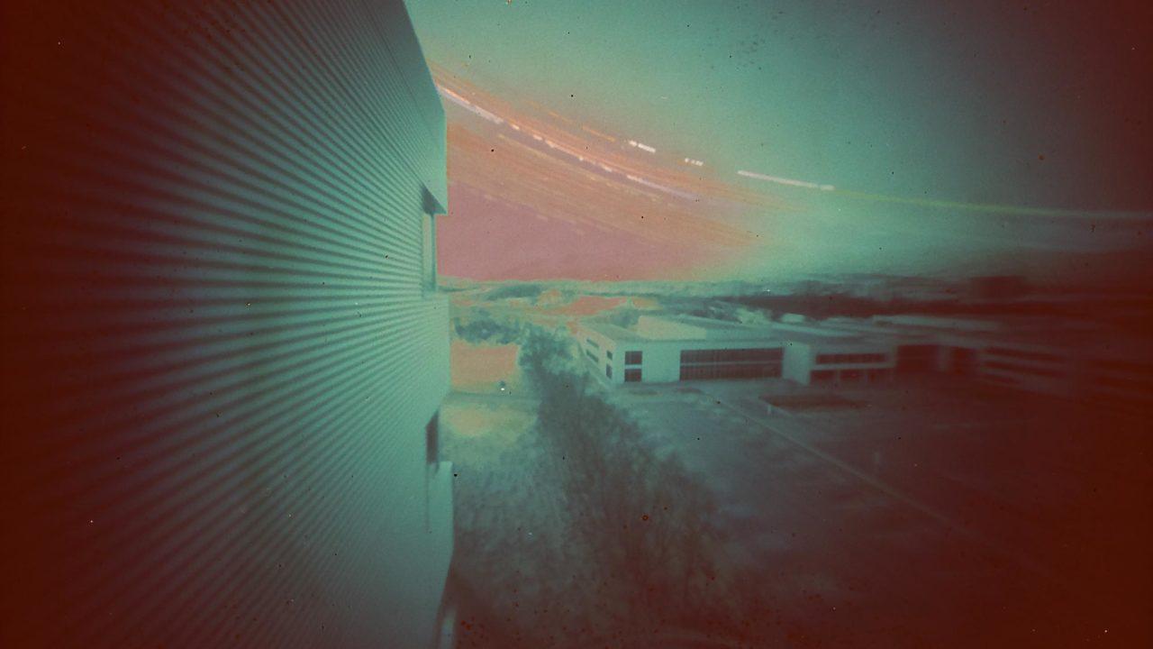 Akureyri iceland solargraphy pinhole photograph