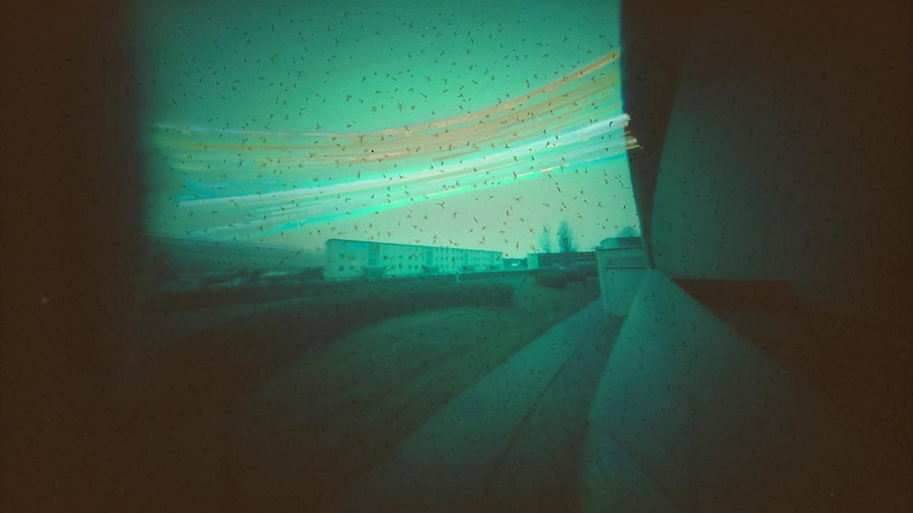 Akureyri Iceland solargraphy pinhole long exposure