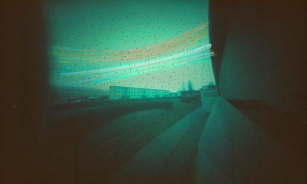 Akureyri Iceland solargraphy pinhole long exposure