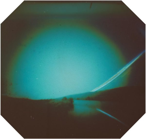Akureyri Iceland solargraphy pinhole photo
