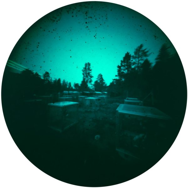 Kevo research station solargraphy arctic circle