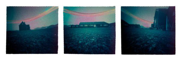 Panorama-multiple-pinhole-photography- solargraphy-Ny-Alesund