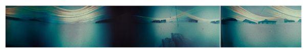 Panorama-photography-solargrapy-pinhole-mutli-exposure-Ny-Alesund-spitsbergen-svalbard