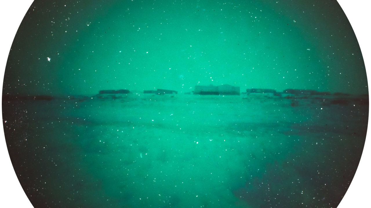 Toolik Alaska USA solargraphy pinhole camera