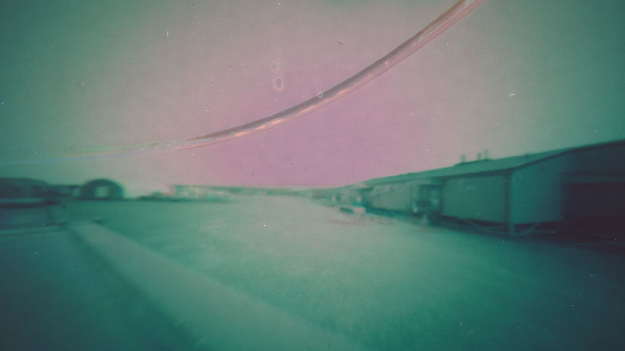 Toolik station Alaska USA solargraphy pinhole camera