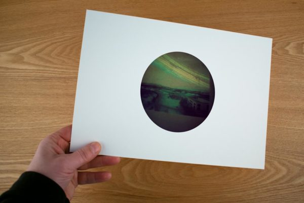 A fine art print showing you the university complex in Akureyri, Iceland
