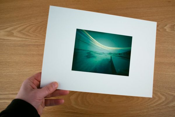 A fine art print of the Polish research station, situated in Hornsund Fjord in Spitsbergen
