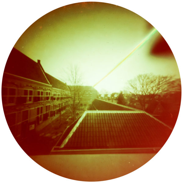 example of a fine art print of WSHS Weeshuis Gouda solargraphy